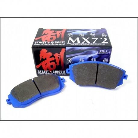 Plaquettes de freins Arrière Endless MX72 EP312 Honda Accord 2003-2008 -  KC-Motors