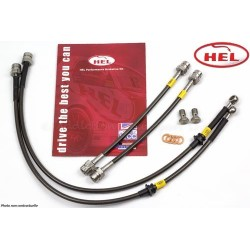 Kit complet de 4 Durites de freins Aviation HEL Performance ALF-4-004 - Alfa Romeo 33 1.8TD 1990-1994
