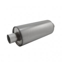 Silencieux DBX - Entrée centre 2'' / 50,80mm - Sortie centre 2'' / 50,80mm - Son modéré 12014310 Fiat 500 1.4L L4 2012-2013