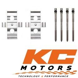 Kit de fixations / Goupilles de freins pour Etriers Avant Brembo d'origine de Audi TTRS 2.5L Quattro MK2