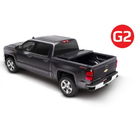 Couvre-benne pliable en Aluminium BAKFlip G2 BAK-226100 Chevrolet Silverado 2500 / 3500 / HD 2014