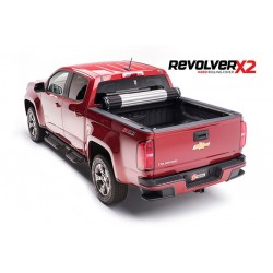 Couvre-Benne roulant rigide en Aluminium Revolver X2 BAK-39125 Chevrolet Colorado 2015-2018