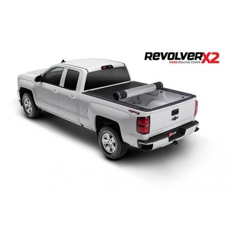 Couvre-Benne roulant rigide en Aluminium Revolver X2 BAK-39120 Chevrolet Silverado 1500 / 2500 / 3500 / HD 2015-2018