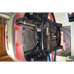 Cat-back / Echappement après catalyseur 3'' Injen SES9016 Ford Fiesta ST 1.6L Turbo 2014