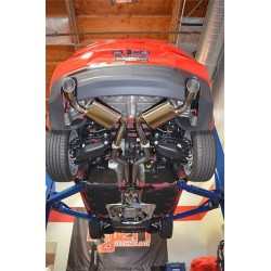 Cat-back / Echappement après catalyseur 3'' Injen SES7300 Chevrolet Camaro SS 2.0L Turbo 2016