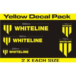 Kit autocollants Whiteline Performance KWM001