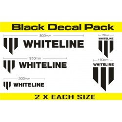 Kit autocollants Whiteline Performance KWM002