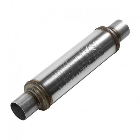 """Silencieux FlowFX - Entrée et sortie centrales 2.50"""" / 63,5mm - Inox Flowmaster 71416 Universel"""