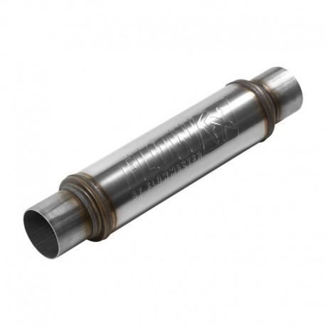 """Silencieux FlowFX - Entrée et sortie centrales 3.00"""" / 76,2mm - Inox Flowmaster 71419 Universel"""