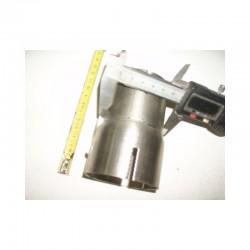 Manchon d'assemblage Acier sur-mesure longueur de 50 à 190mm et diamètre intérieur jusqu'à 76mm