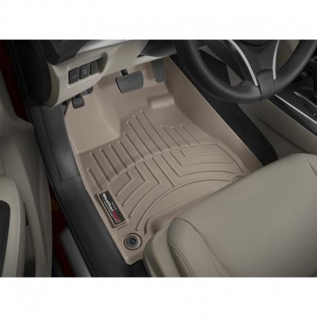 Tapis de sol WeatherTech FloorLiner 455761 Sable 1rerangée (conducteur et passager) Acura MDX 2014-2019