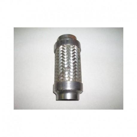 Flexible Inox d'échappement sur mesure à souder de longueur 100mm à 249mm et diamètre extérieur de 51mm à 73mm