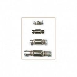 Flexible Inox pour tube 76mm à colliers de longueur de 180mm à 350mm