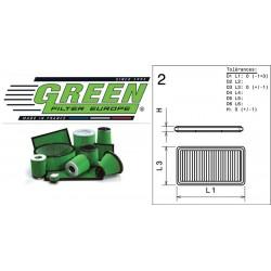 Filtre à air Green P960054 ACURA SLX 3.2L V6 96-97
