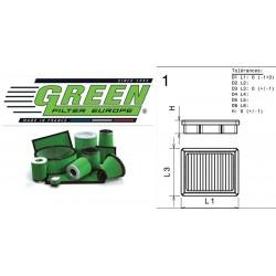 Filtre à air Green P960546 ALFA ROMEO GIULIA (952) 2.0L TURBO (NORTH AMERICA) 16-