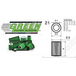Filtre à air Green G491599 ALFA ROMEO 156 SPORTWAGON 2.0L i 16V JTS 02-05