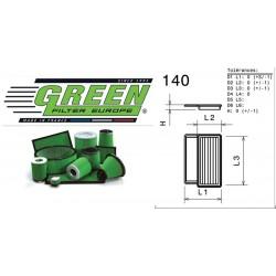 Filtre à air Green P960548 ALFA ROMEO MITO 1.3L JTDM 16V (EURO 4) 11/09-
