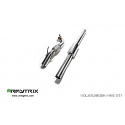 Option Downpipe Armytrix VWG6T-DD Volkswagen Scirocco R 2.0 Turbo (2008-)