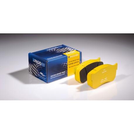 Plaquettes Pagid RSLD1-4929 jaune - Porsche 991 GT3 Cup [PFC brakes 28/26 mm] 2013- - AR