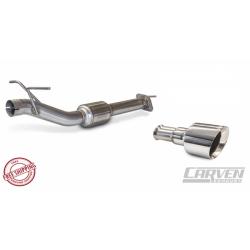 Silencieux d'Echappement Carven avec Sorties Inox poli 5'' / 127mm pour Dodge Ram1500 5.7L V8 2019 CARV-1014