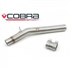 Tube de suppression du Résonateur Cobra Sport VW82 VW Golf R Mk7.5 (5G) Estate (non-GPF) 2014-2017