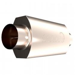 Silencieux QTP AR3 - Diamètre Entrée et Sortie de 4'' / 101,6mm 12400