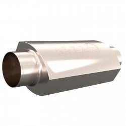 Silencieux QTP AR3 - Diamètre Entrée et Sortie de 3.5'' / 88,9mm 12350