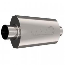 Silencieux QTP AR3 - Diamètre Entrée et Sortie de 3'' / 76,2mm 12300