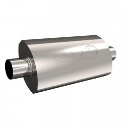 Silencieux QTP AR3 - Diamètre Entrée et Sortie de 2.5'' / 63,5mm 12250