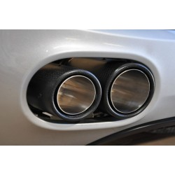 Double sortie carbone Audi R8 V8