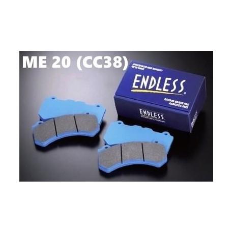 Plaquettes de freins Avant Endless ME20 (CC38) EP270 HONDA Integra Type-R DC2 98 SPEC 1997-2001