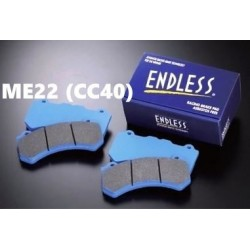 Plaquettes de freins Avant Endless ME22 (CC40) EP270 HONDA Integra Type-R DC2 98 SPEC 1997-2001
