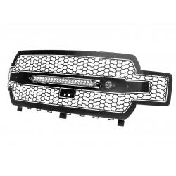 Grille de calandre noire Scorpion avec Lumières LED aFe Power 79-21005L Ford F-150 3.3L V6 2019