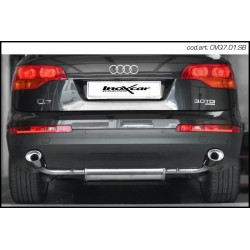 Echappement inox Inoxcar Audi Q7 3.0 V6 TDI 233cv -OVQ7.01.SB