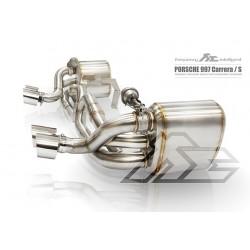 Echappement inox à valves FI Exhaust pour Porsche 997 Carrera et S Génération 1 (2004 - 2008)