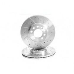 Paire de disques pour Audi A2 1.4 TDi (75bhp)(AMF/BHC Engine) 00-05 - Frein Arrière M877