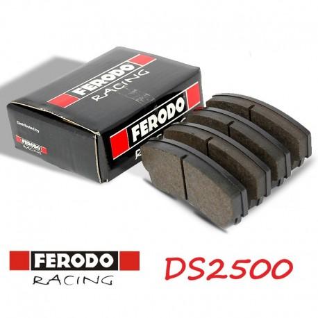 Plaquettes Avant Ferodo Racing DS 2500 FCP1334H Renault Megane III (Z) inclus break et coupé 1.09-