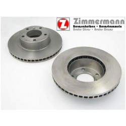Disque Avant Plein Zimmermann GRN Z230-2357-20 Alfa Romeo 155 1.92-12.97