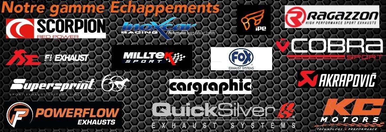 KC Motors - Notre meilleure gamme d'échappements