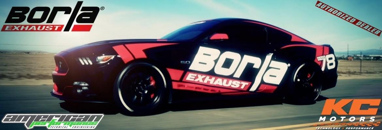 Notre gamme d'échappements BORLA - KC Motors