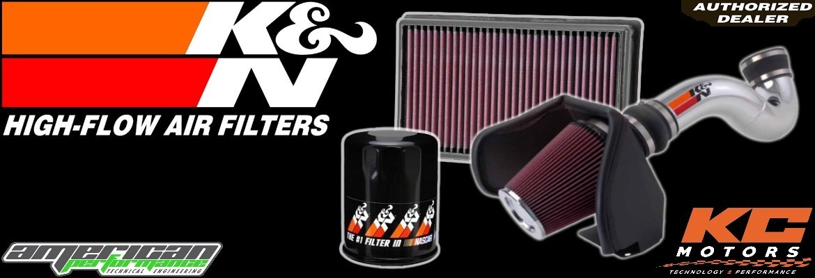 Filtration K&N - KC Motors