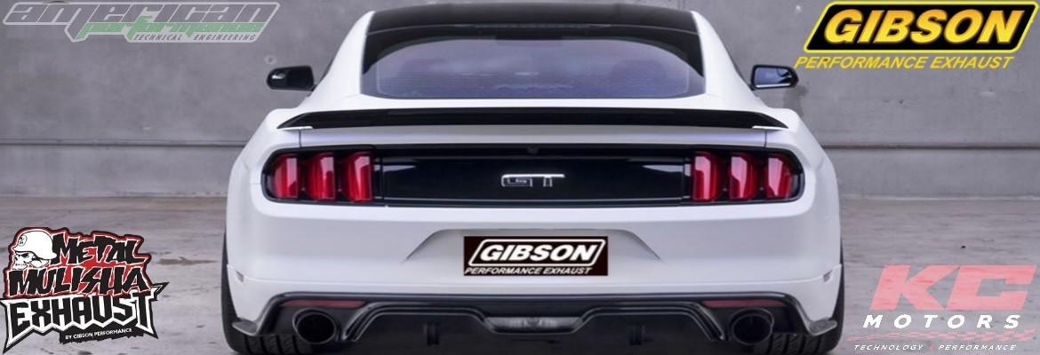 Echappements GIBSON KC MOTORS